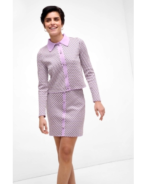 Sneakersy TOMMY HILFIGER - Tommy Jacquard Leather Sneaker FW0FW04602 Desert Sky DW5