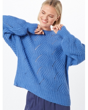 Native Youth Sweter 'THE ADELE WOOL KNIT'  niebieski