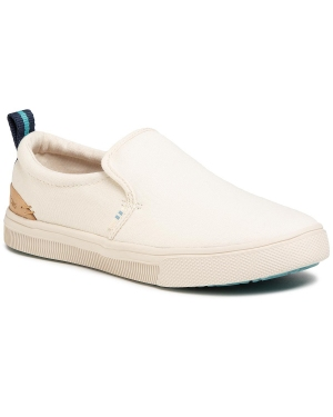 Tenisówki TOMS - Trvl Lite Slip-On 10015090 Brich Canvas