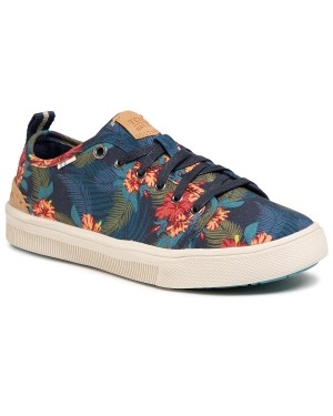Tenisówki TOMS - Trvl Lite Low 10015148 Navy Tropical Print