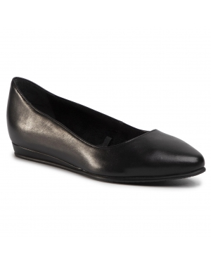 Baleriny TAMARIS - 1-22118-24 Black Leather 003