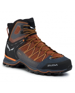 Trekkingi SALEWA - Ms Mnt Trainer Lite Mid Gtx GORE-TEX 61359-0927 Black Out/Carrot 0927