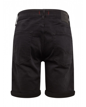 JACK & JONES Jeansy 'JJIRICK JJICON SHORTS GE 010 I.K STS'  czarny denim