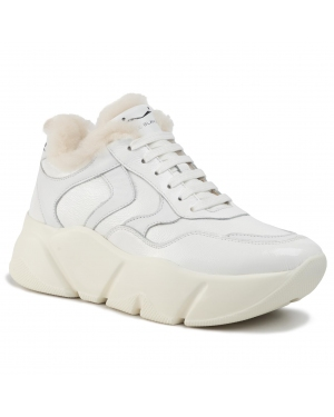 Sneakersy VOILE BLANCHE - Monster Fur 0012014293.01.0N01 Bianco