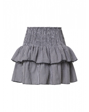 Neo Noir Spódnica 'Carin Mini Check Skirt (part of group)'  czarny