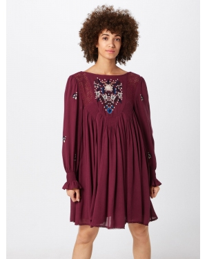Free People Letnia sukienka 'Mohave Mini'  merlot