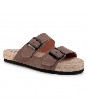 Espadryle MANEBI - Nordic Sandals K 1.9 R0 Coco Brown
