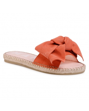 Espadryle MANEBI - Sandals With Bow M 3.3 J0 Mandarin