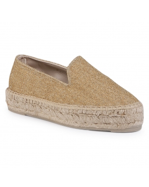 Espadryle MANEBI - Slippers D F 4.2 D0 Gold Light