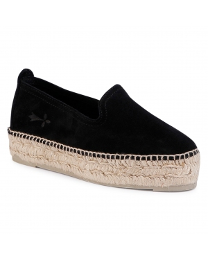 Espadryle MANEBI - Slippers D K 1.0 D0 Black
