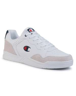 Sneakersy CHAMPION - Toronto Men Low S21422-S20-WW001 Bright White/Red