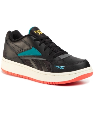 Buty Reebok - Court Double Mix EH3280 Black/Pugry6/Seatea