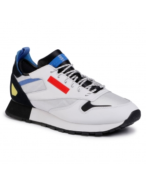 Buty Reebok - Cl Leather Reedux FV3206 White/Black/Blubla