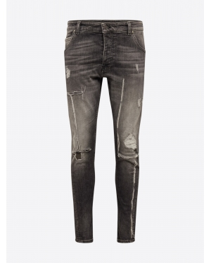 tigha Jeansy 'Billy the kid 9941 destroyed'  szary denim