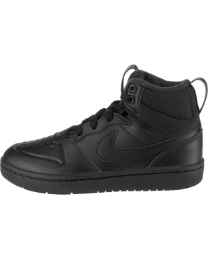 NIKE Trampki 'Court Borough Mid 2'  czarny