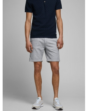 JACK & JONES Chinosy  jasnoszary