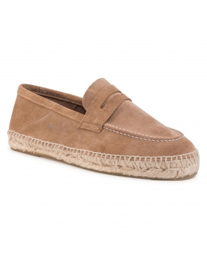 Espadryle MANEBI - Loafers M 2.8 L0 Washed Beige