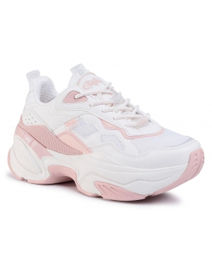 Sneakersy BUFFALO - Crevis P1 BN16302971 Cream/Rose