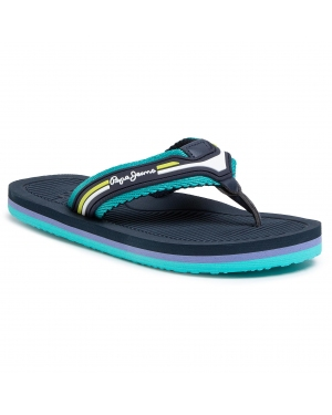 Japonki PEPE JEANS - Off Beach Junior PBS70035 Green 665