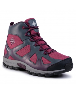 Trekkingi COLUMBIA - Youth Peakfreak Xcrsn Mid Wp BY5946 Wine Berry/Black Cherry 550