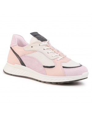 Sneakersy ECCO - ST.1 W 83627351889 Blossom Rose/Black/White/Rose Dust