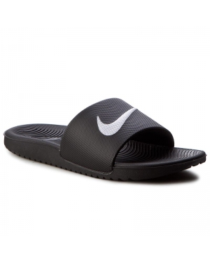 Klapki NIKE - Kawa Slide (GS/PS) 819352 001 Black/White