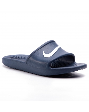 Klapki NIKE - Kawa Shower (GS/PS) BQ6831 401 Navy/White