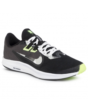 Buty NIKE - Downshifter 9 AQ7481 012 Black/White/Particle Grey