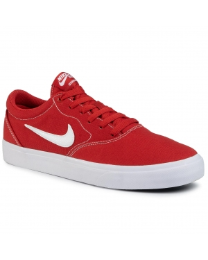 Buty NIKE - Sb Charge Cnvs CD6279 601 Mystic Red/White/Mystic Red