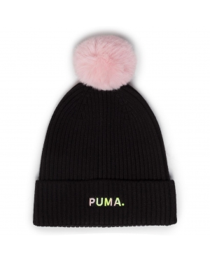 Czapka PUMA - Shift Beanie 022348 01 Puma Black/Bridal Rose