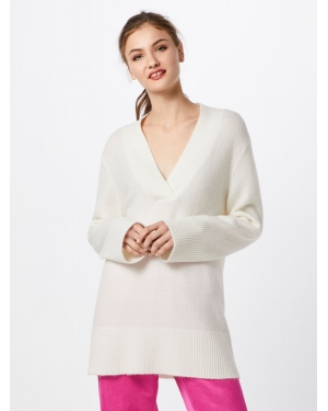 Banana Republic Sweter 'FLUFFY VEE TUNIC'  offwhite
