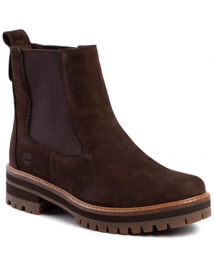 Sztyblety TIMBERLAND - Courmayeur Valley Chelsa TB0A23WUW821 Dark Brown