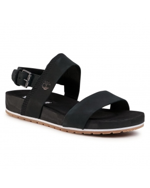 Sandały TIMBERLAND - Malibu Waves 2Band Sandal TB0A2AT9001 Black Nubuck