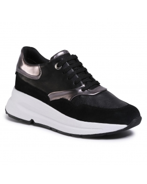 Sneakersy GEOX - D Backsie C D02FLC 085BN C9B1G  Black/Gun