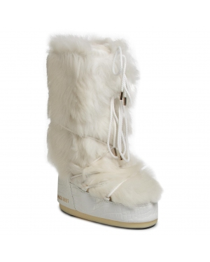 Śniegowce MOON BOOT - Classic 50° Shearling 14025800001 White