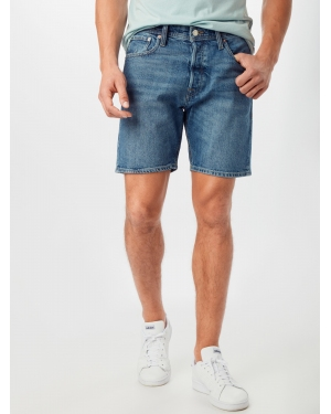 JACK & JONES Jeansy 'JJICHRIS'  niebieski denim