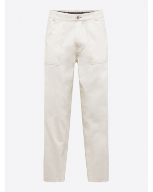 Review Spodnie 'WORKER PANTS'  offwhite