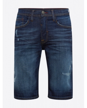 BLEND Jeansy 'Denim Shorts Twister Slim'  niebieski denim