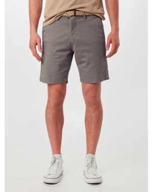 JACK & JONES Chinosy 'SUMMER CHINO'  ciemnoszary