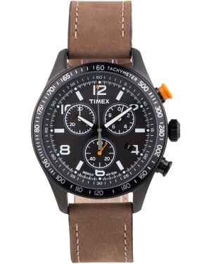 Zegarek męski Timex Men's Chronograph Blackout Outlet1