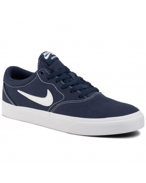 Buty NIKE - Sb Charge Cnvs CD6279 402 Midnight Navy/White