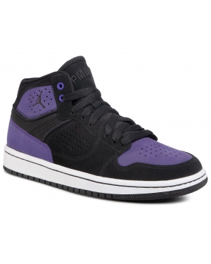 Buty NIKE - Jordan Access (Gs) AV7941 005 Black/Black/Court Purple