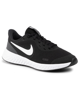 Buty NIKE - Revolution 5 (GS) BQ5671 003 Black/White/Anthracite