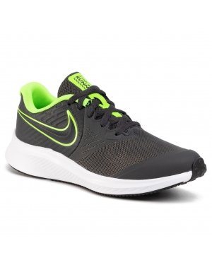 Buty NIKE - Star Runner 2 (Gs) AQ3542 004 Anthracite/Electric Green