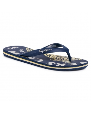 Japonki PEPE JEANS - Whale Crew PMS70085 Navy 595