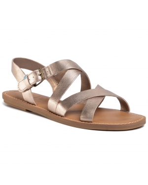 Sandały TOMS - Sicily 10015120 Rose Gold Metallic Leather