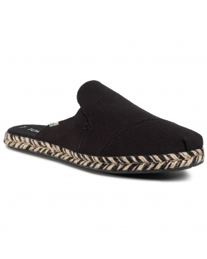 Espadryle TOMS - Nova 10015104  Black Canvas