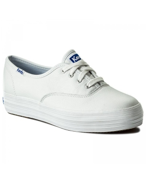 Tenisówki KEDS - Triple Leather WH55748 White