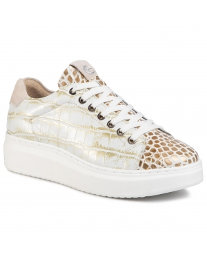 Sneakersy TAMARIS - 1-23775-34 Lt Gold Croco 904