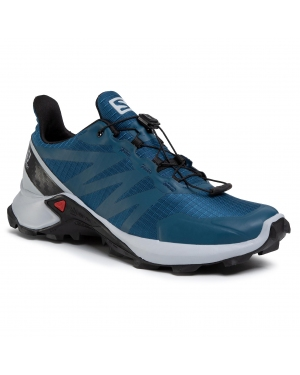 Buty SALOMON - Supercross 409303 28 W0 Poseidon/Pearl Blue/Black